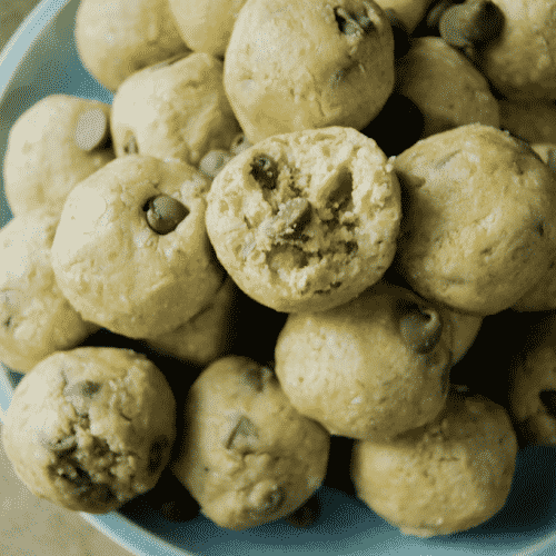 Cookie Dough Protein Bites. {Video!}