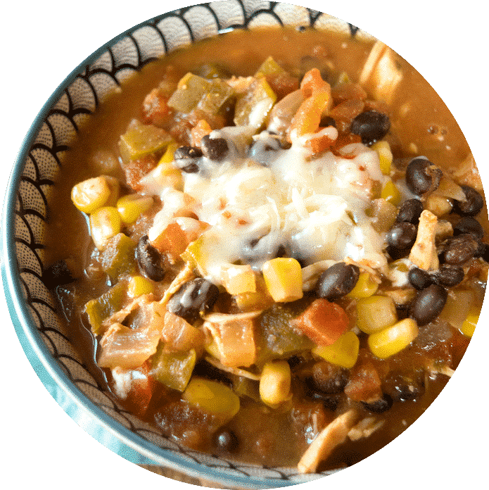 My Favorite Crockpot Chicken Chili.