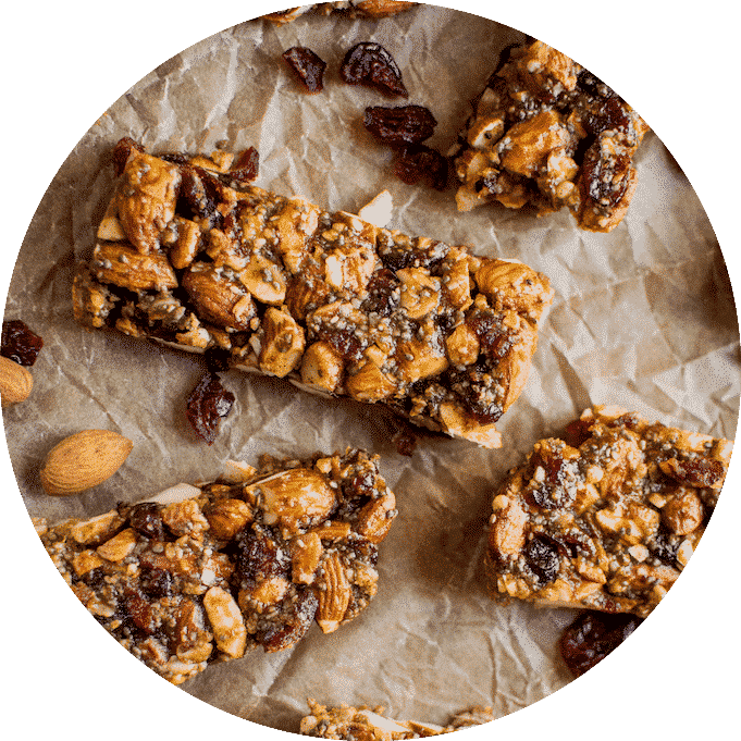 Cranberry Pumpkin Almond Granola Bars.