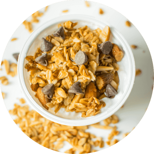 Very Vanilla Almond Granola.