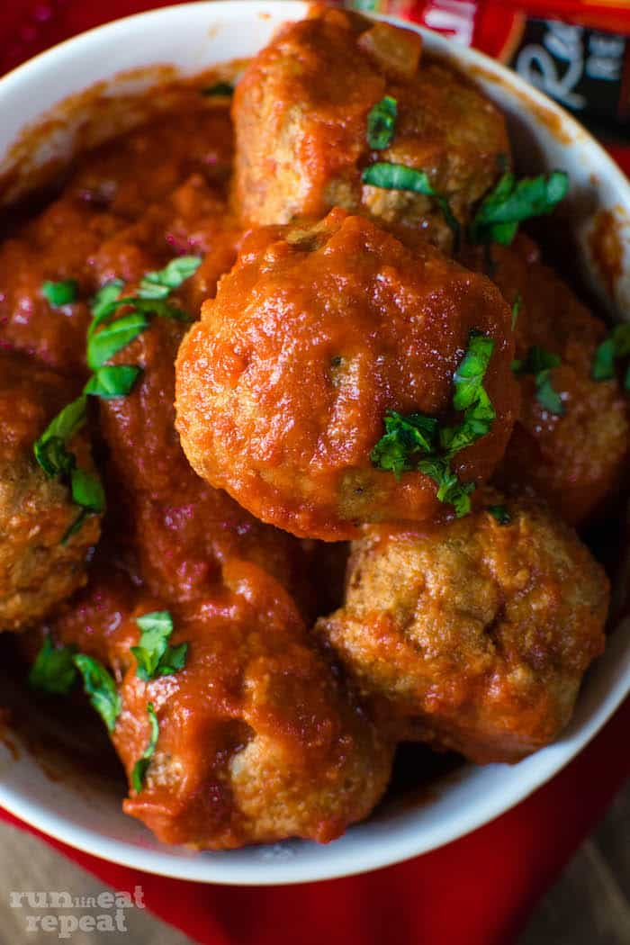 This is my tried and true, absolute favorite recipe for classic crockpot turkey meatballs. Packed with flavor, incredibly tender, and there's hardly any work!