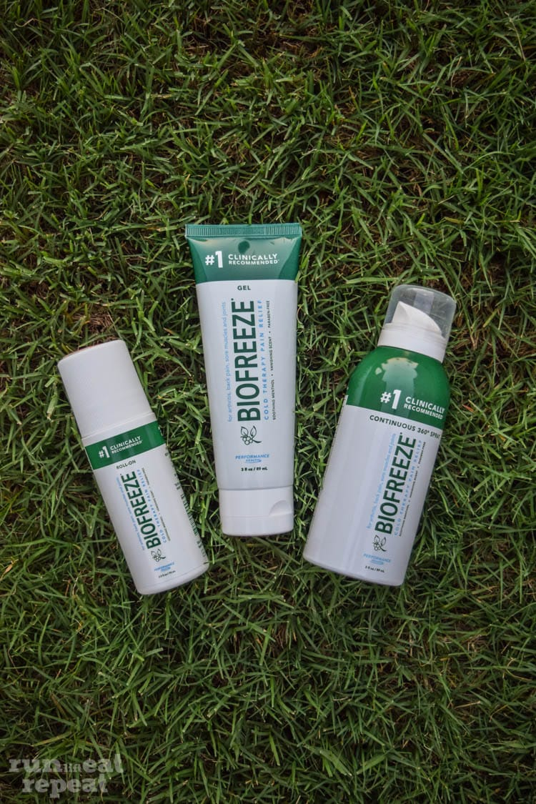 Relief when you need it with BioFreeze!