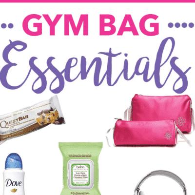 Gym Bag Essentials.