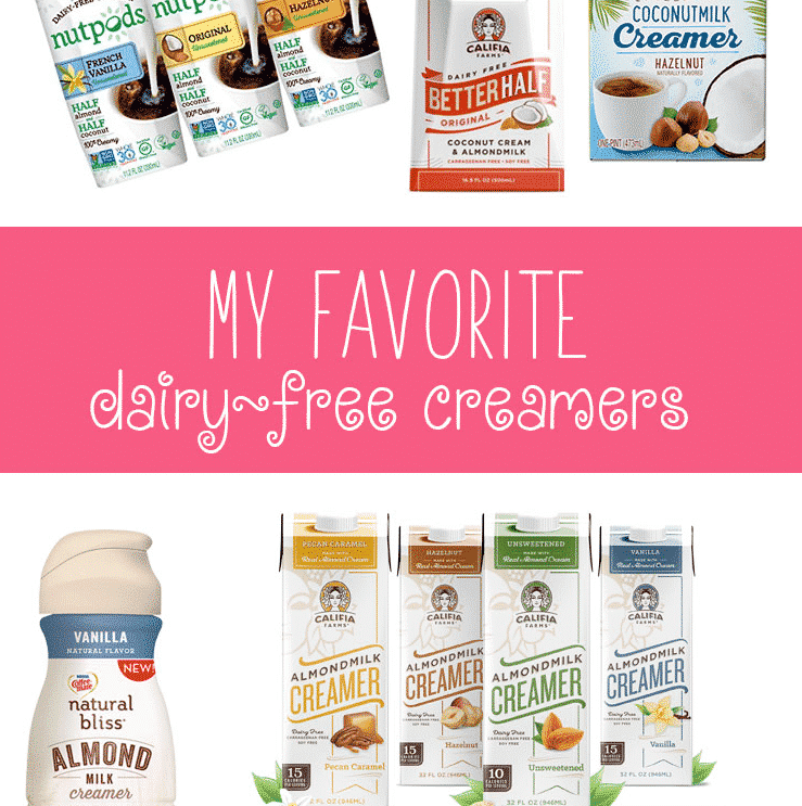 My Favorite Dairy-Free Creamers.