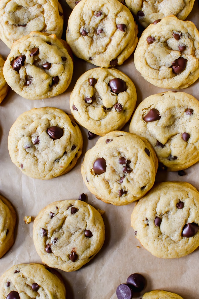 The softest of the soft. The chewiest of chewy. The perfect dairy-free chocolate chip cookie!