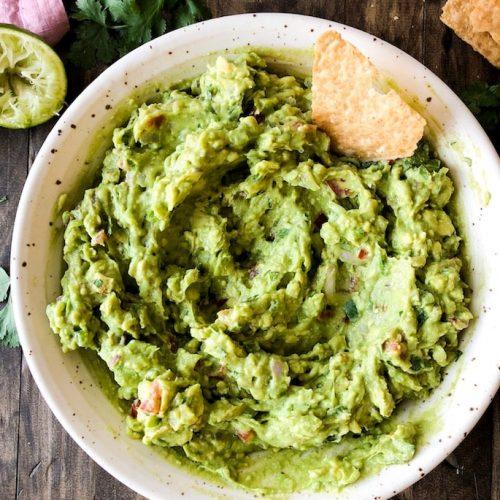 Easy & Flavorful Guacamole.