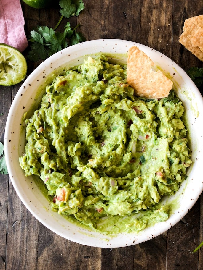 Try this easy guacamole for your next party, or just because!