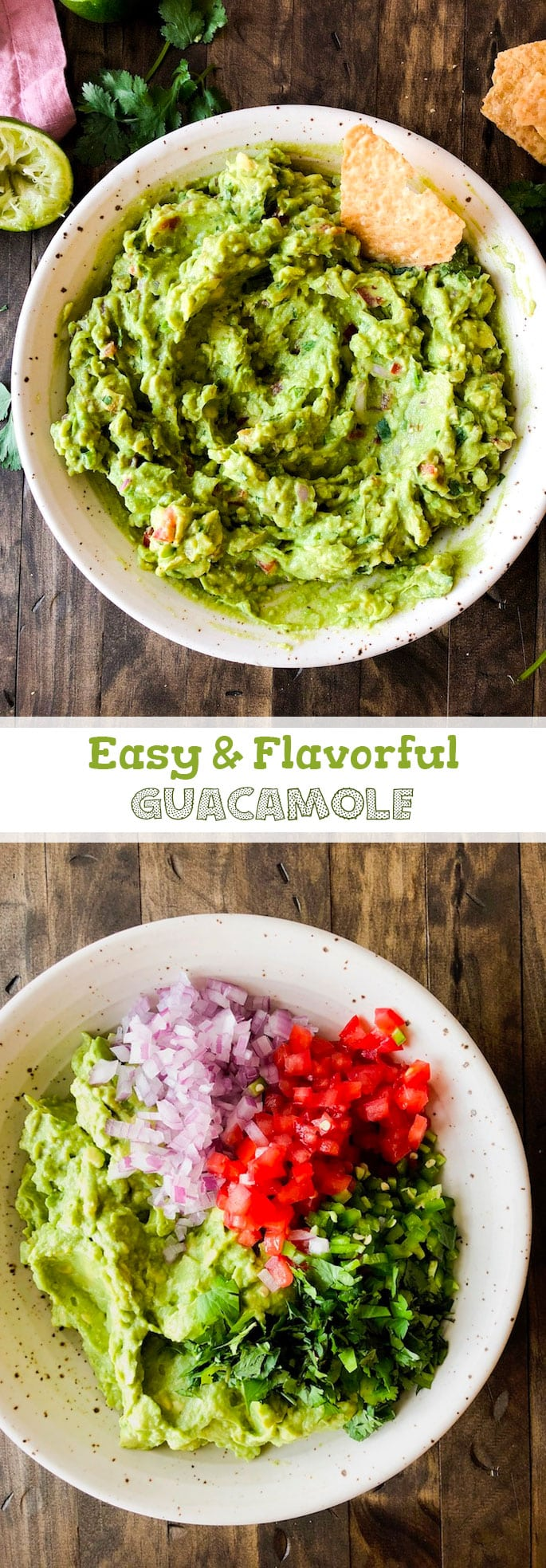 Try this easy guacamole for your next party, or just because! TGIF – it's party time! It's almost Cinco de Mayo! I have very little self control when it co