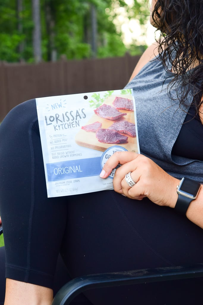Thank you Lorissa's Kitchen for sponsoring this post. Lorissa's Kitchen makes delicious snacks using high quality meats like 100% grass-fed beef and chicke