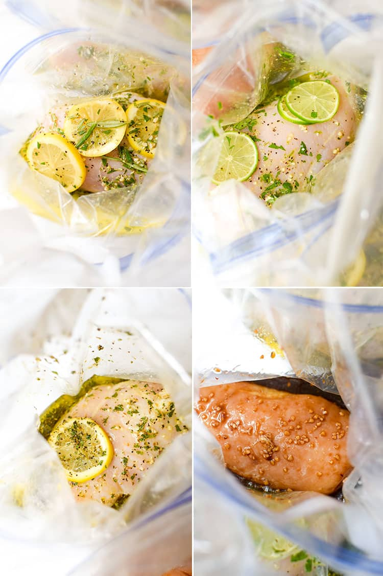 Make dinners easier with these 4 make-ahead chicken marinade recipes.