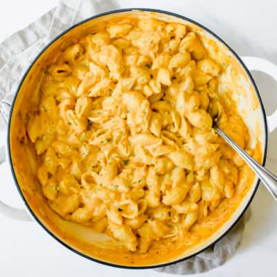 Easy Skillet Macaroni and Cheese.