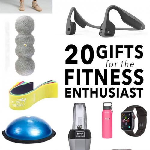 20 Holiday Gifts for the Fitness Enthusiast In Your Life.