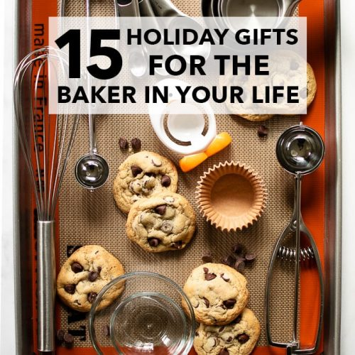 As we shift into holiday mode, our shopping is just getting started. Here's the holiday gift guide of my most-loved kitchen tools for the baker or cook in your life! Find it at runlifteatrepeat.com. #giftguide #gifts #holiday #christmas #ideas