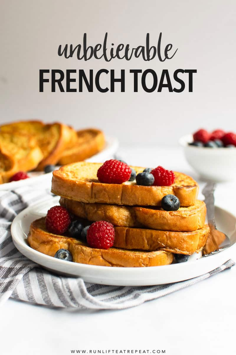 Just when you think french toast can't get any better – try it with this secret ingredient. It makes it truly unbelievably delicious!