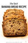 This is my go-to banana bread recipe— with its moist texture, buttery banana flavor, and incredibly soft crumb, this is truly the best banana recipe that you'll ever have. With 5 star reviews from taste-testers you'll agree it is too!