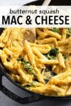 This butternut squash mac and cheese produces the same comfort as regular mac and cheese but has a unique taste. It's endlessly creamy and incredibly flavorful. There's no doubt that your family will love it!