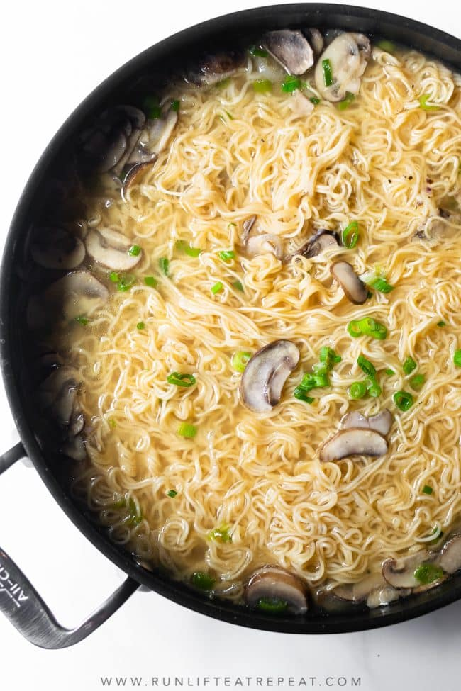 This is my favorite way to made homemade ramen. It's simple, flavorful and done in under 30 minutes. It's a quick fix for your take-out cravings.