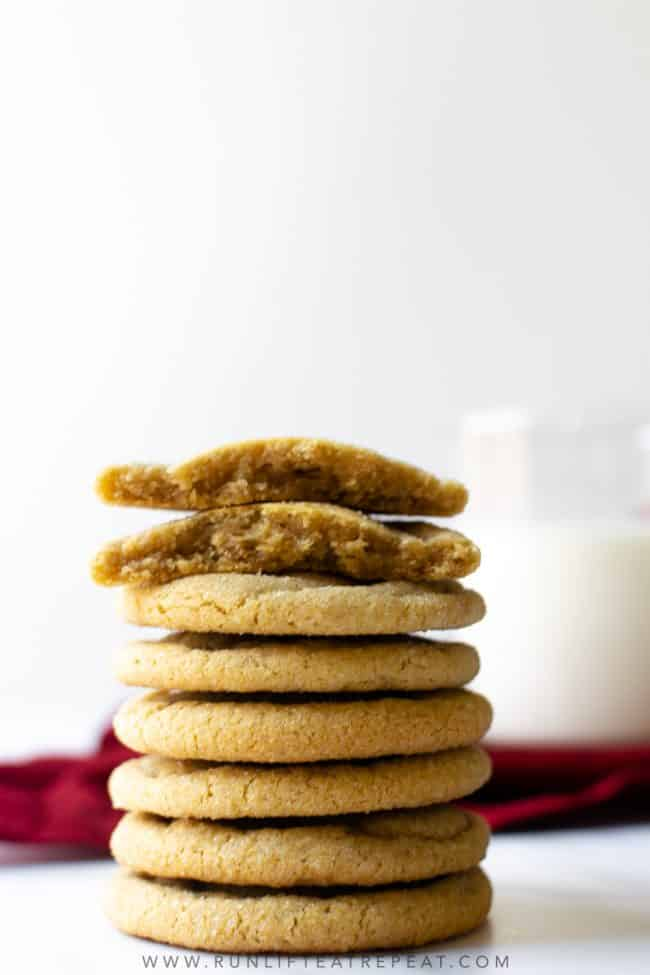 With crisp edges, incredibly chewy centers and a pronounced molasses flavor, I know that you'll love these brown sugar cookies as much as I do. The hint of cinnamon gives you a comforting feel too!