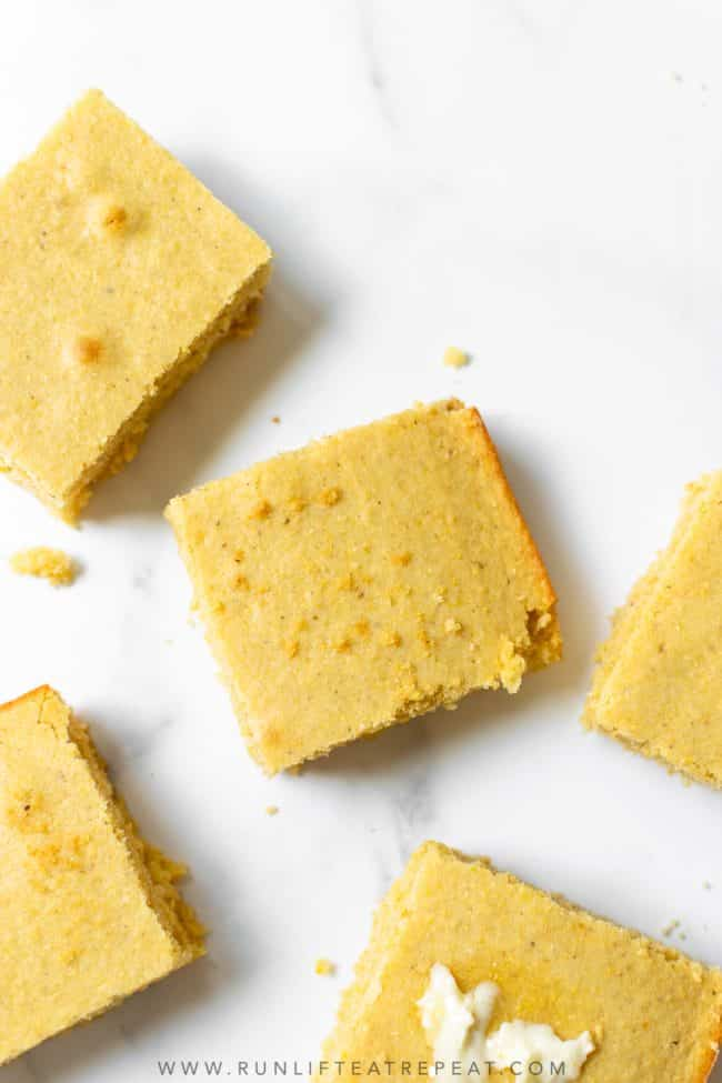 I have always been a fan of cornbread, but this cornbread recipe is my absolute favorite. After tons of recipe testing, I landed on the perfect ratio of ingredients to produce a moist and buttery cornbread recipe. I guarantee that you will love this recipe just has much as I do!