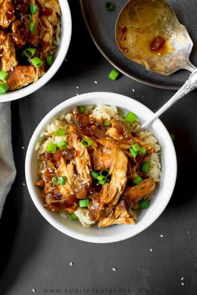This bold and tasty slow cooker teriyaki chicken is made effortlessly in your slow cooker with just a handful of ingredients. It's a must-make recipe that please even the pickiest eaters will love! And it's the kind of carefree dinner that you want around all year— especially for those busy week nights.