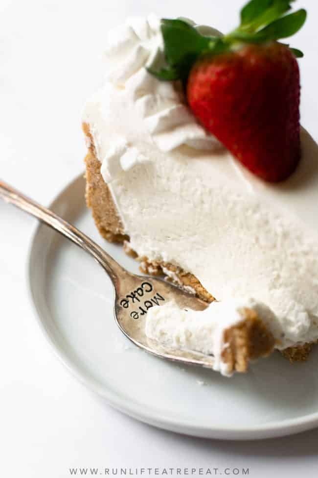 This is truly the most perfect and easy no-bake cheesecake. By following this no-bake cheesecake recipe, you'll have an ultra smooth and creamy dessert that sets overnight in the refrigerator. It's a fool proof cheesecake recipe that anyone can make and the crowd will love!